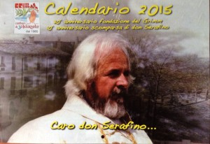 Calendario 2015 – Caro don Serafino (nel decennale della scomparsa)
