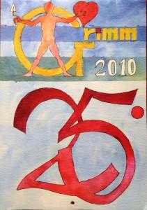 Calendario 2010 – Il XXV del Grimm