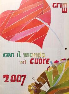 Calendario 2007 – Con il mondo nel cuore