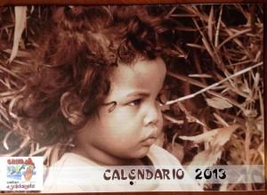 """Calendario 2013 – I bambini del progetto """"Aggiungi un posto a tavola"""" (sostegno a distanza)"""
