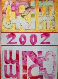 Calendario 2002 – Lavorare con le mani educa il cuore