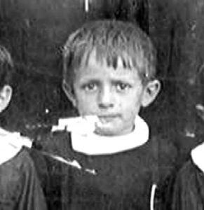Don Serafino bambino