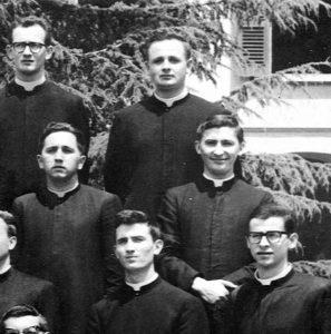 Don Serafino seminarista nel Seminario Vescovile Diocesano di Brescia