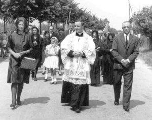 Ingresso a San Gervasio Bresciano come sacerdote novello - giugno 1962