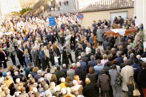 19 marzo 2005 - Funerale di don Serafino a Esenta di Lonato del Garda